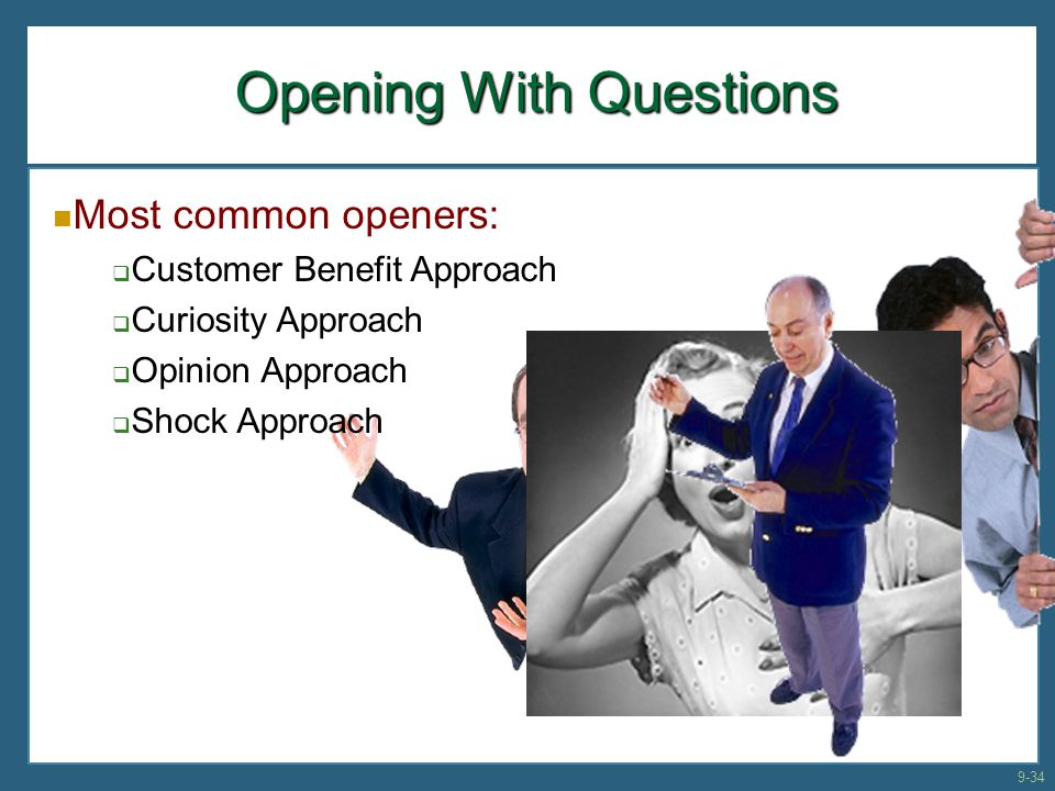 Opening With Questions