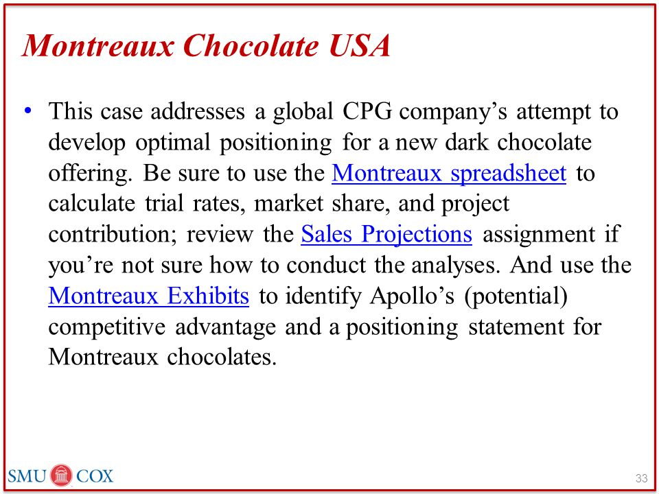 Montreaux Chocolate USA