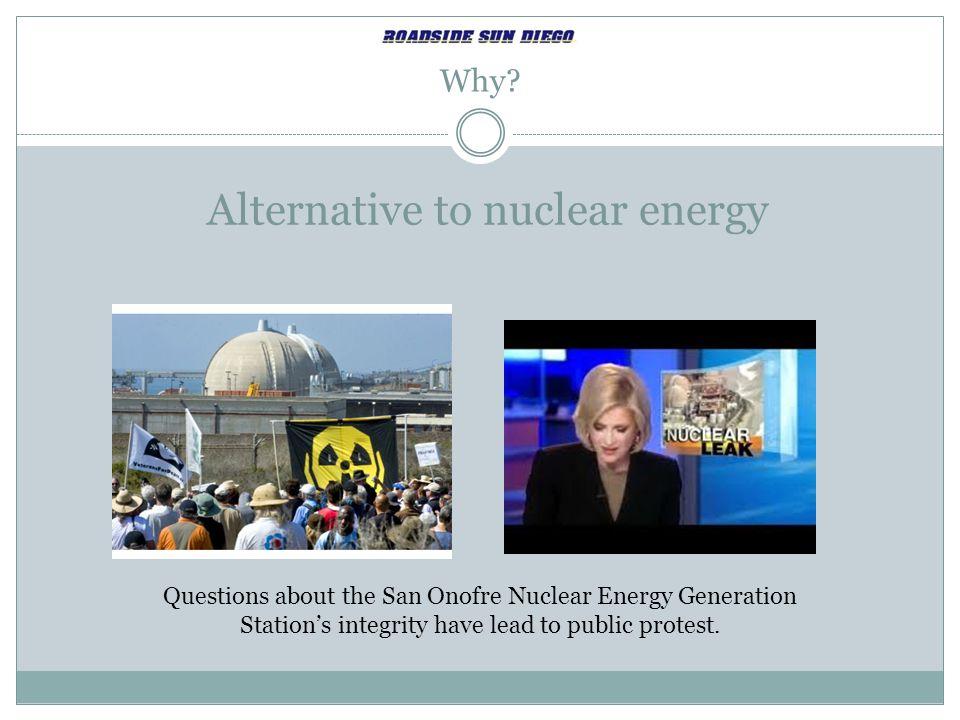 Alternative to nuclear energy