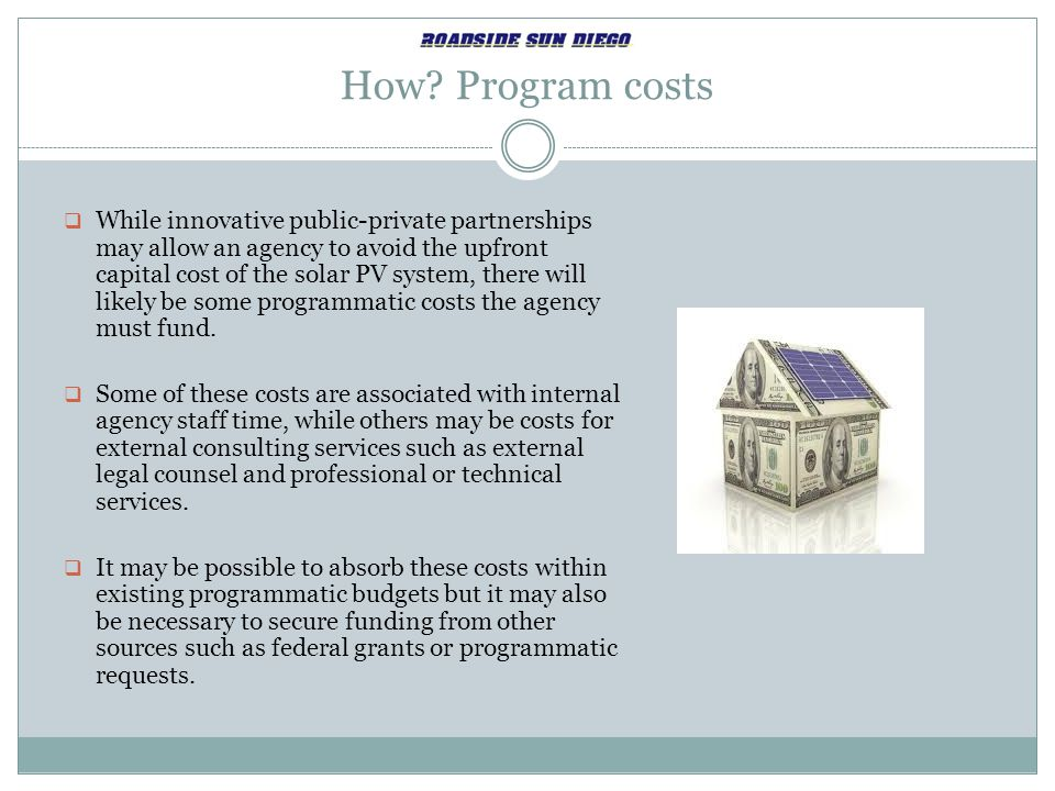 How Program costs