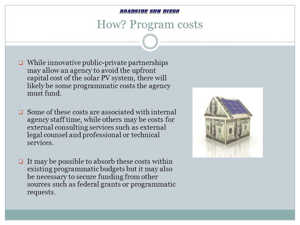 How Program costs