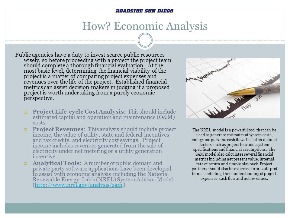 How Economic Analysis