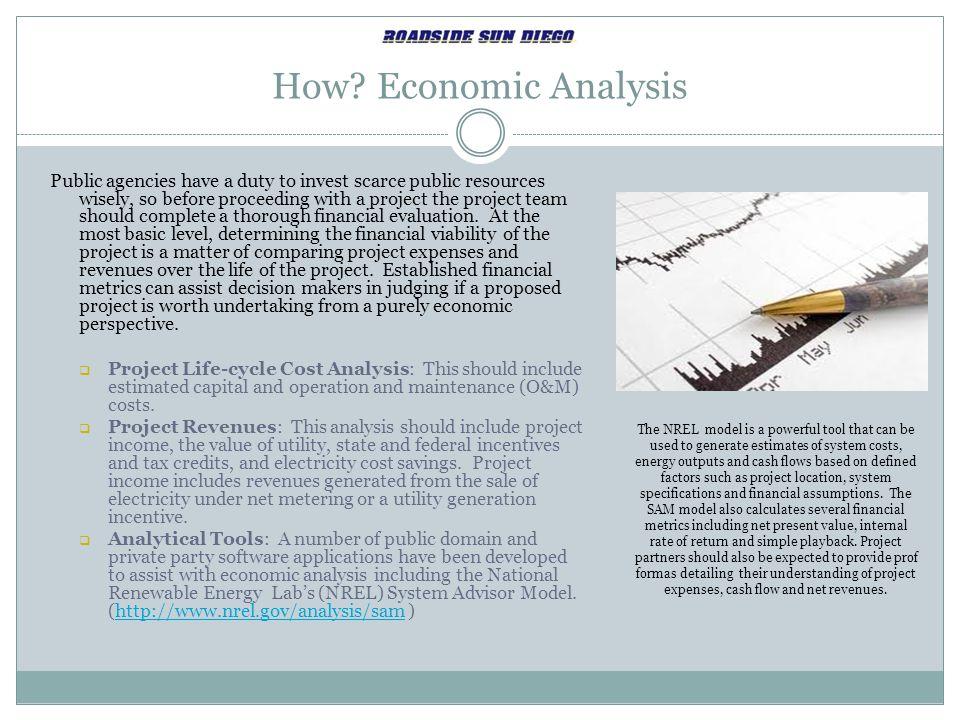 How Economic Analysis