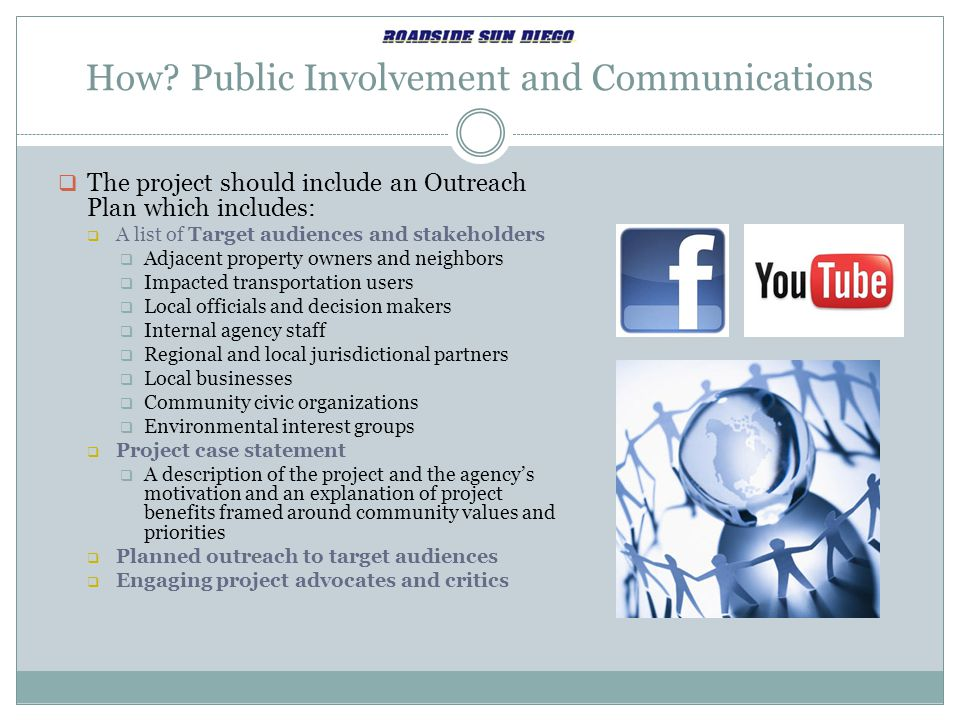How Public Involvement and Communications