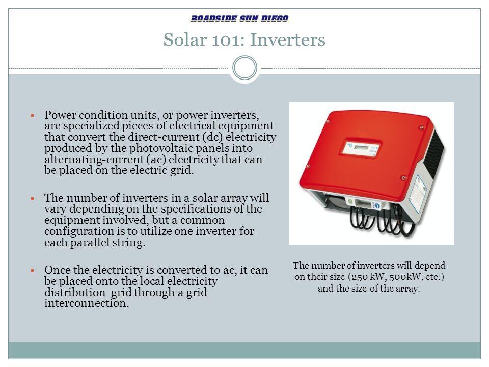 Solar 101: Inverters