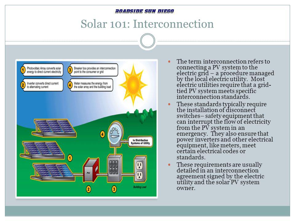 Solar 101: Interconnection