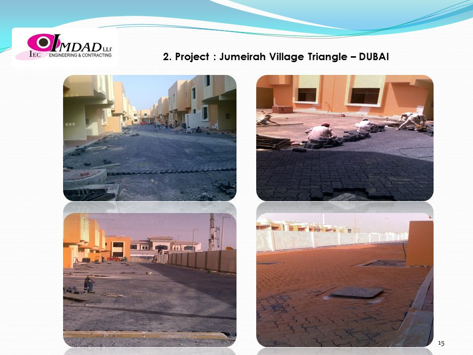 2. Project : Jumeirah Village Triangle – DUBAI