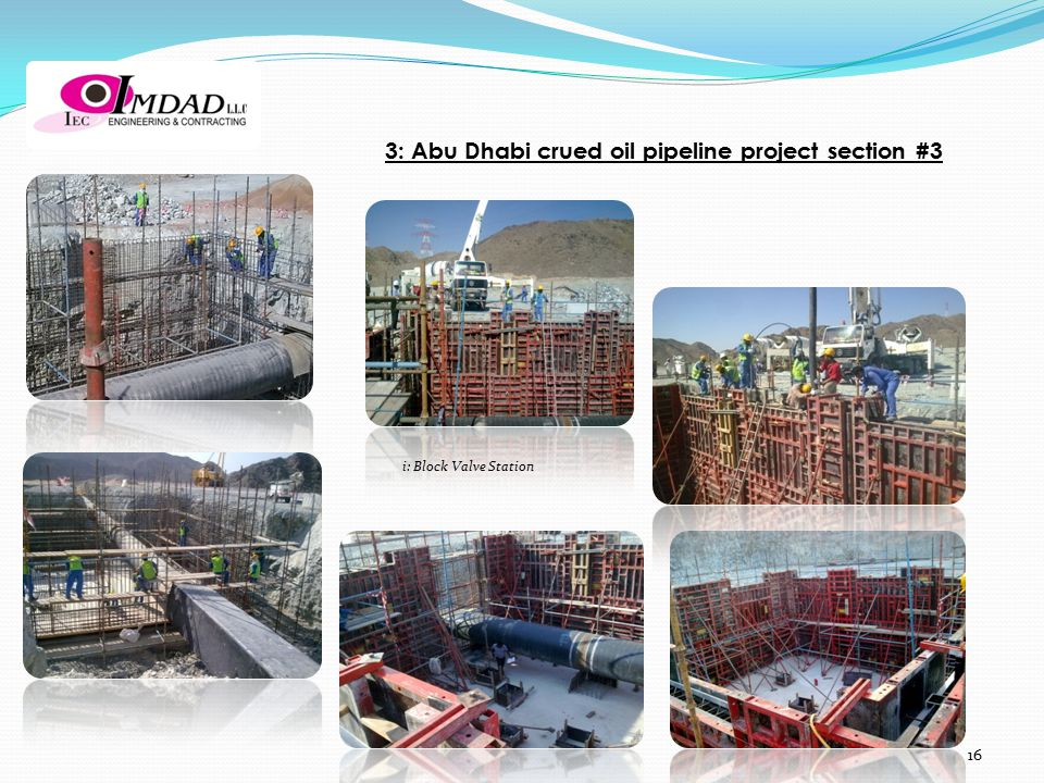3: Abu Dhabi crued oil pipeline project section #3