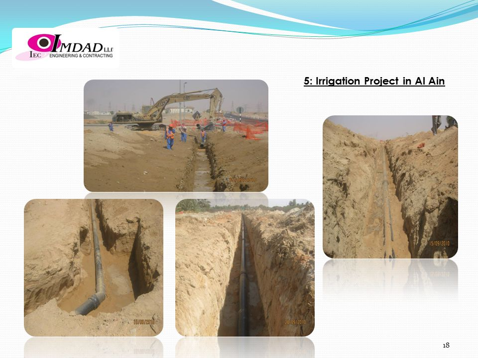 5: Irrigation Project in Al Ain