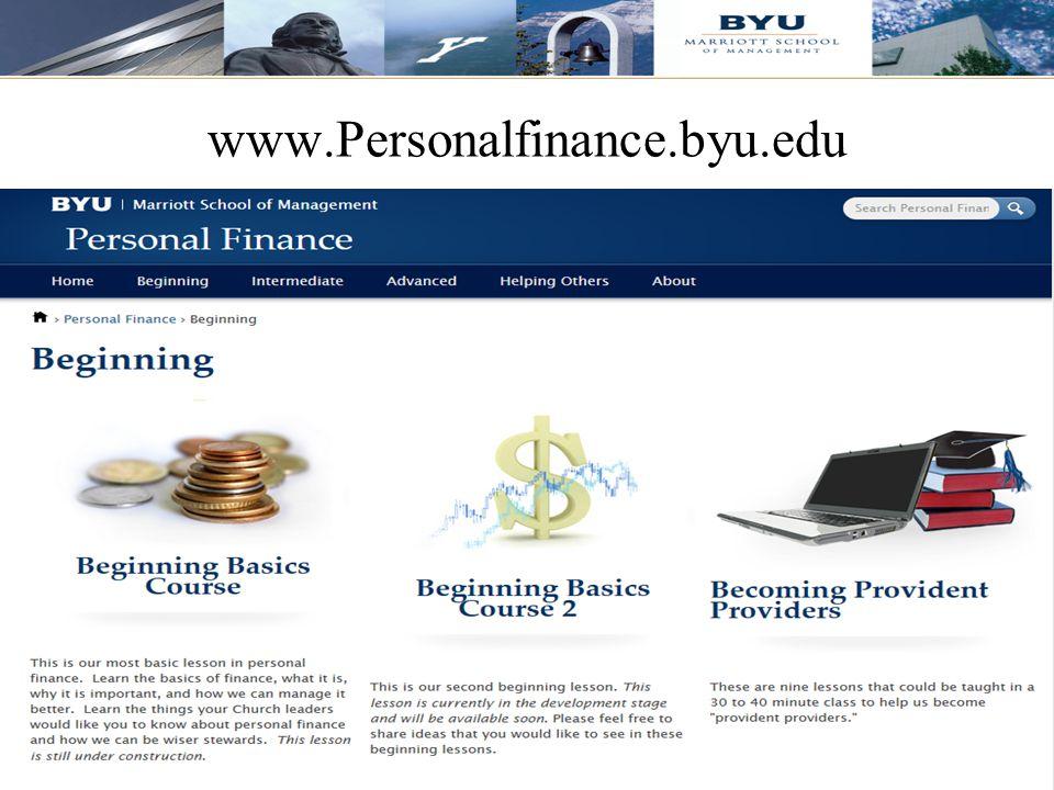 www.Personalfinance.byu.edu