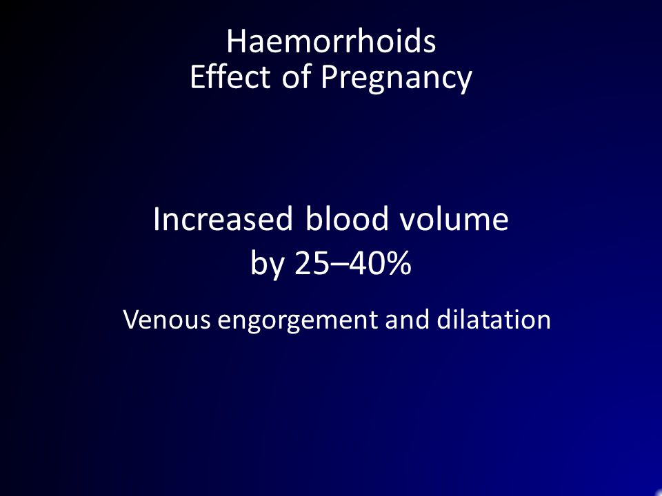 Increased blood volume by 25–40%