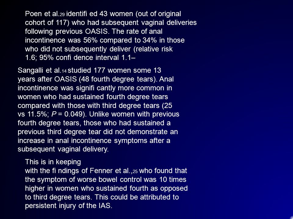 Poen et al.29 identifi ed 43 women (out of original