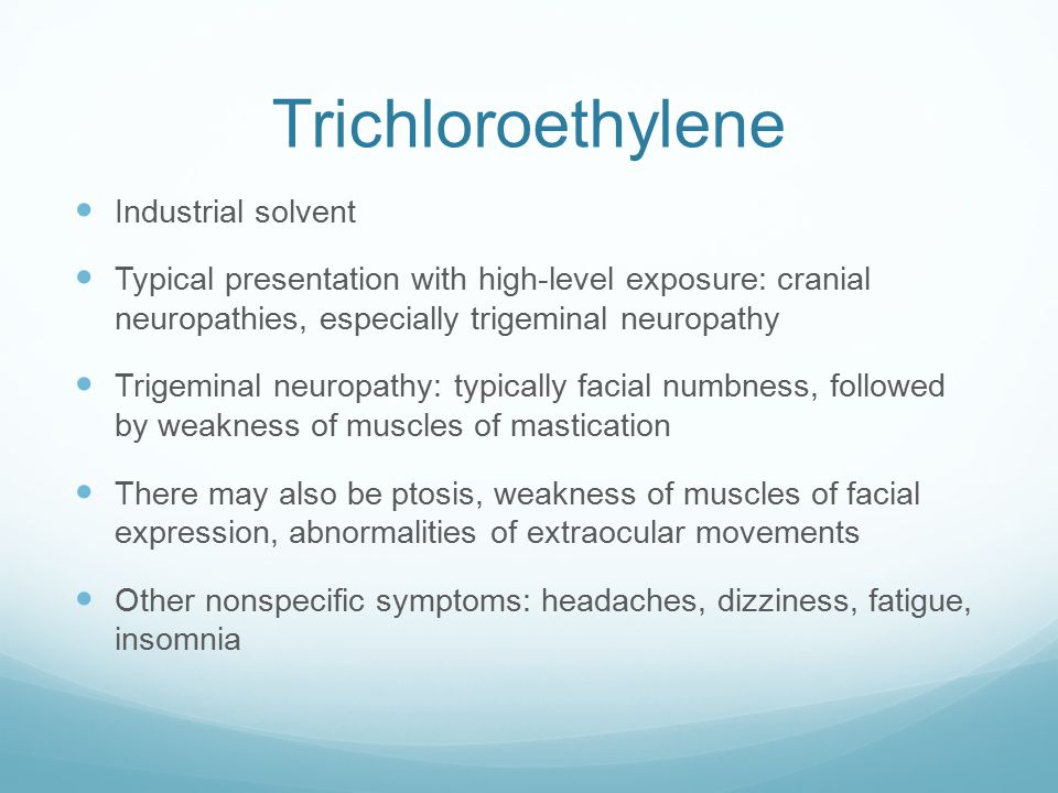 Trichloroethylene Industrial solvent