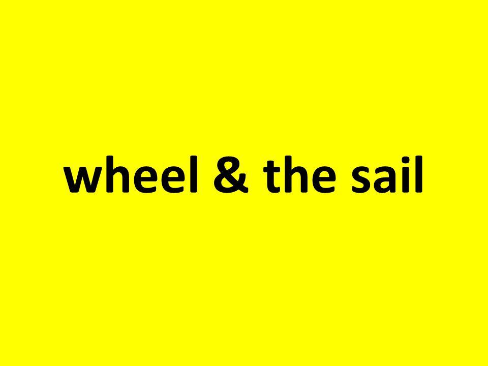 wheel & the sail