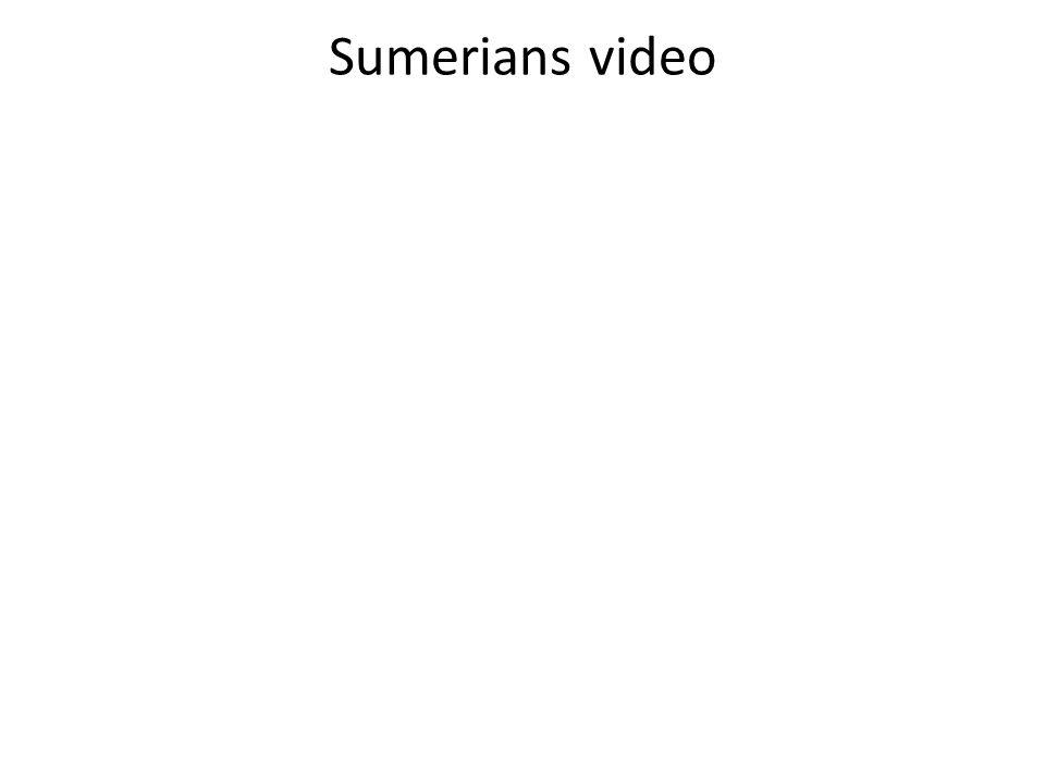 Sumerians video