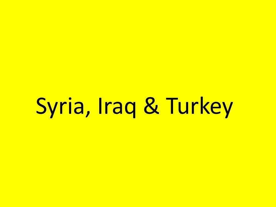 Syria, Iraq & Turkey