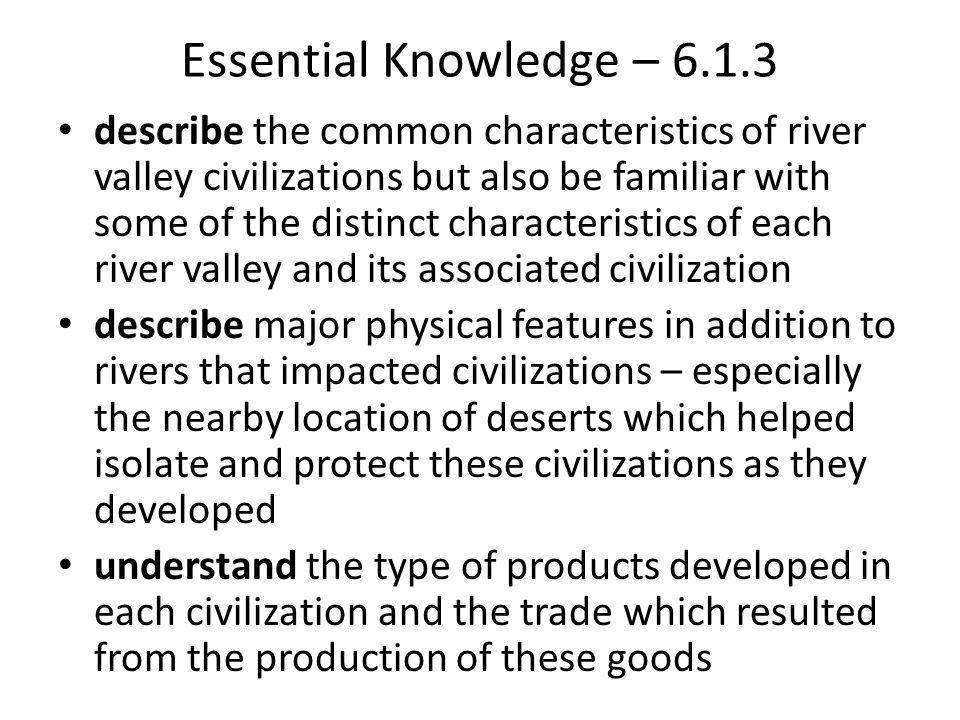 Essential Knowledge – 6.1.3