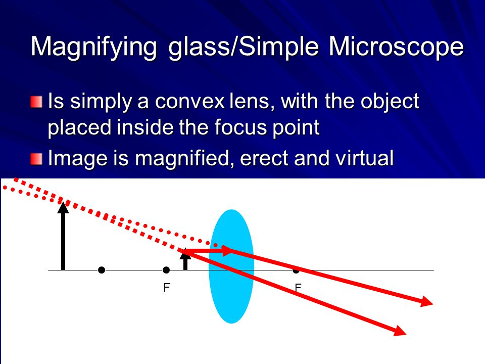 Magnifying glass/Simple Microscope