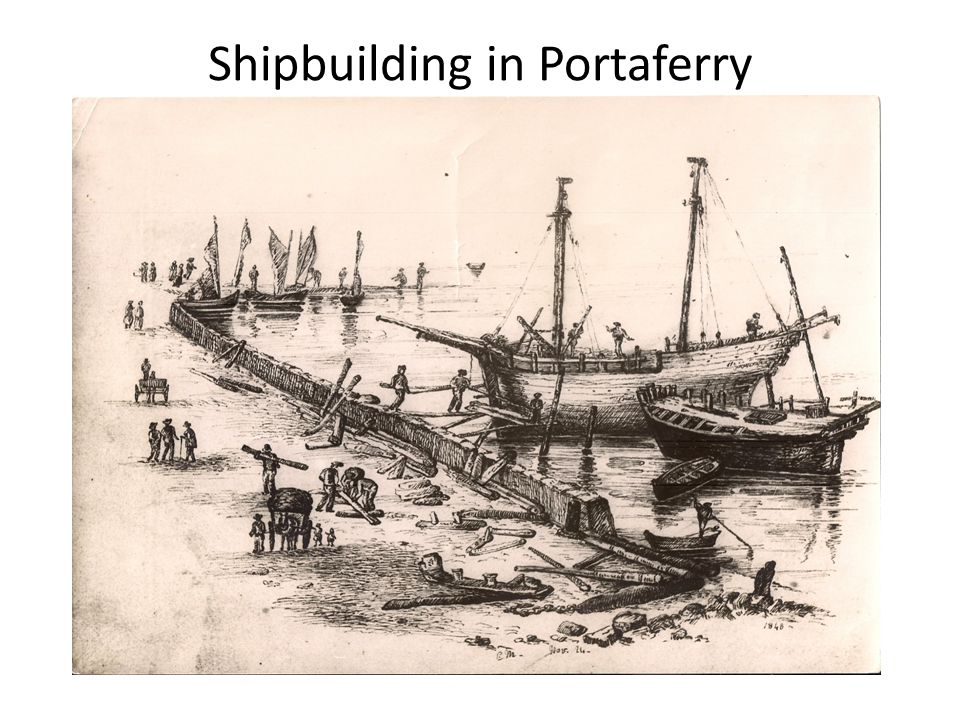 Shipbuilding in Portaferry