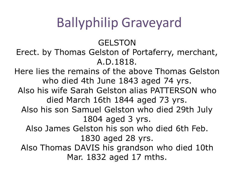 Ballyphilip Graveyard