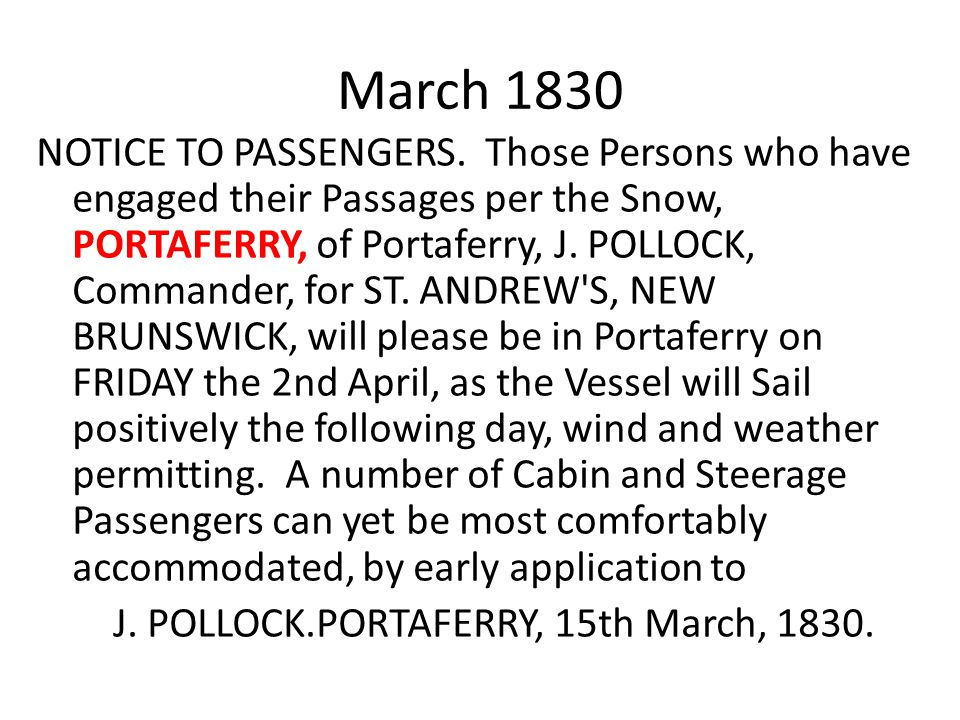 March 1830