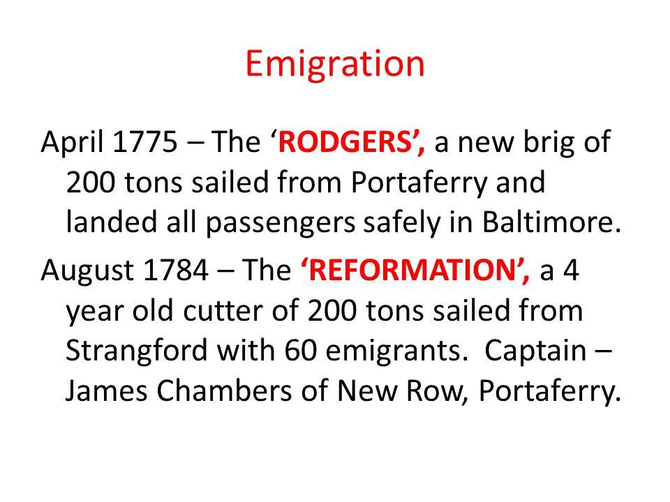 Emigration