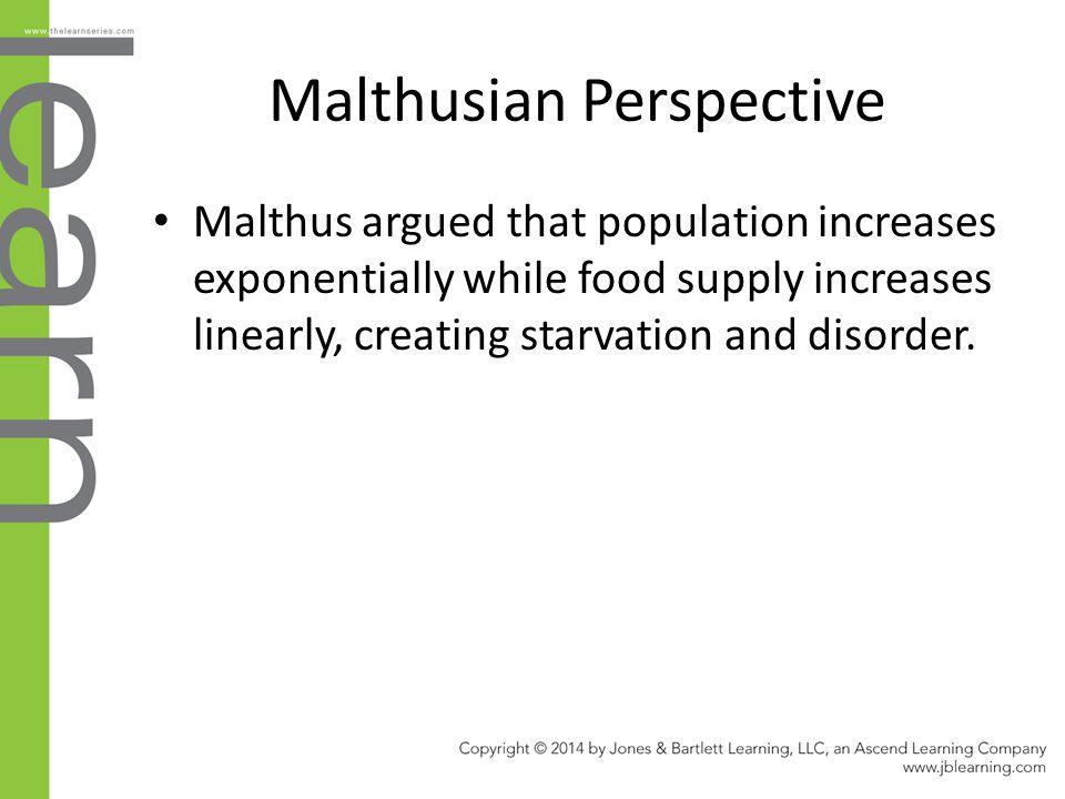 Malthusian Perspective