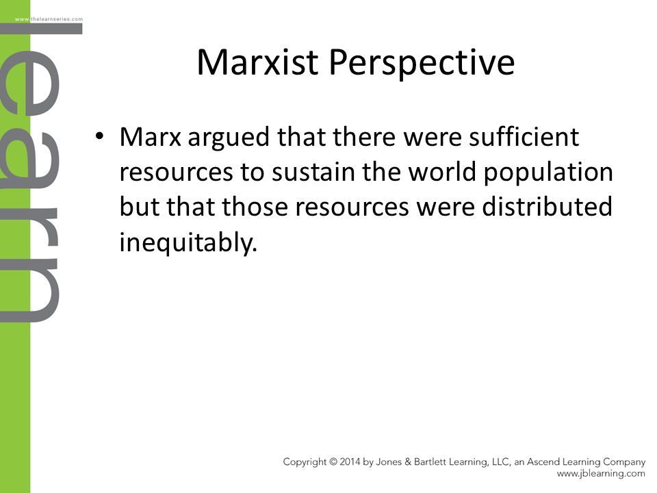 Marxist Perspective