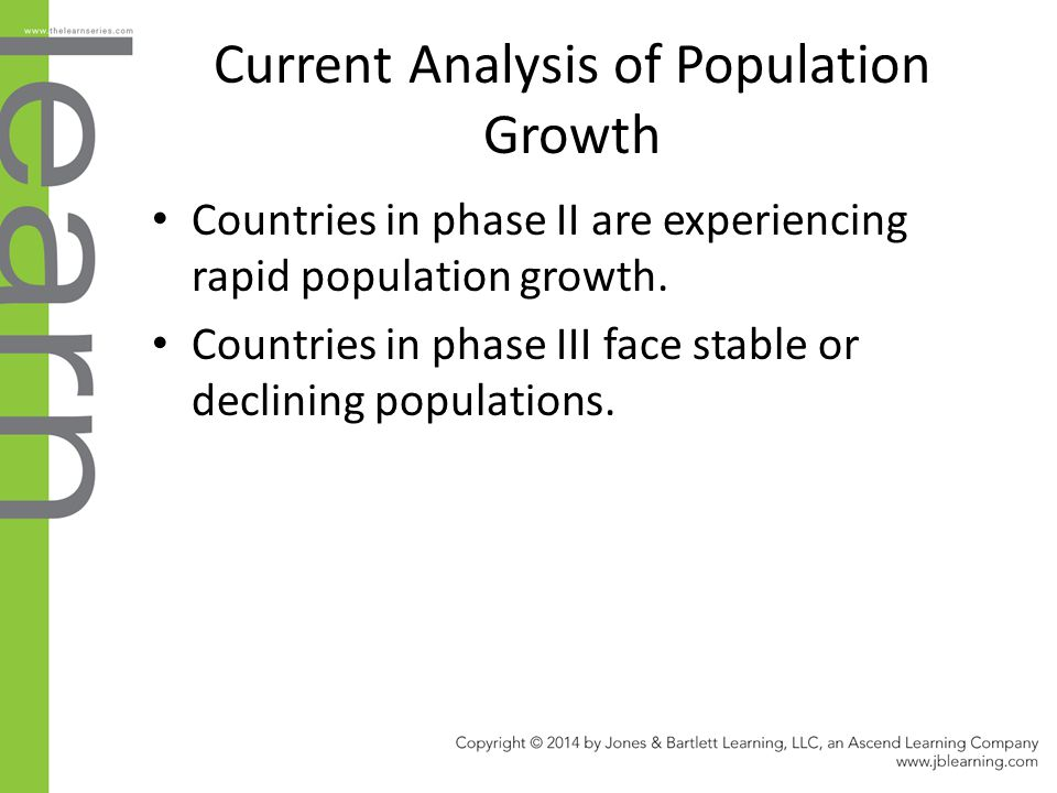 Current Analysis of Population Growth