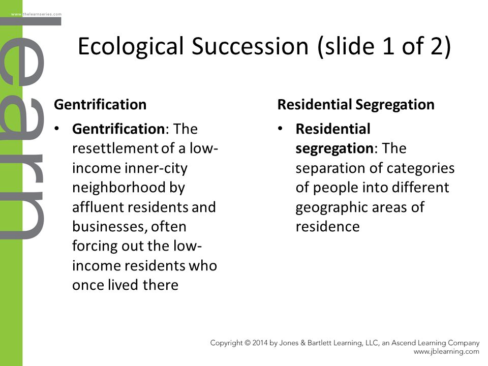 Ecological Succession (slide 1 of 2)