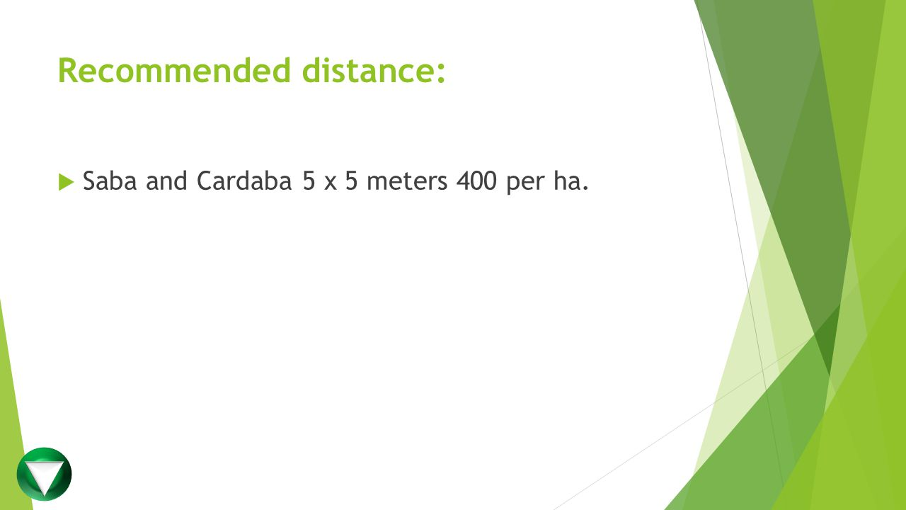 Recommended distance: