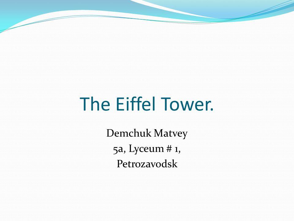 Demchuk Matvey 5a, Lyceum # 1, Petrozavodsk
