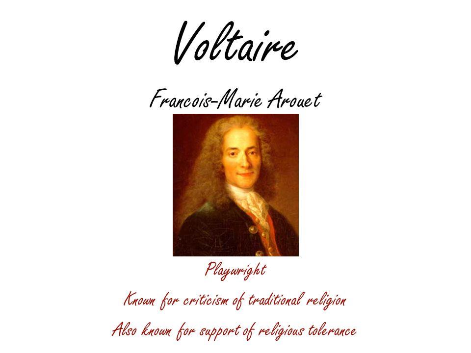 Voltaire Francois-Marie Arouet