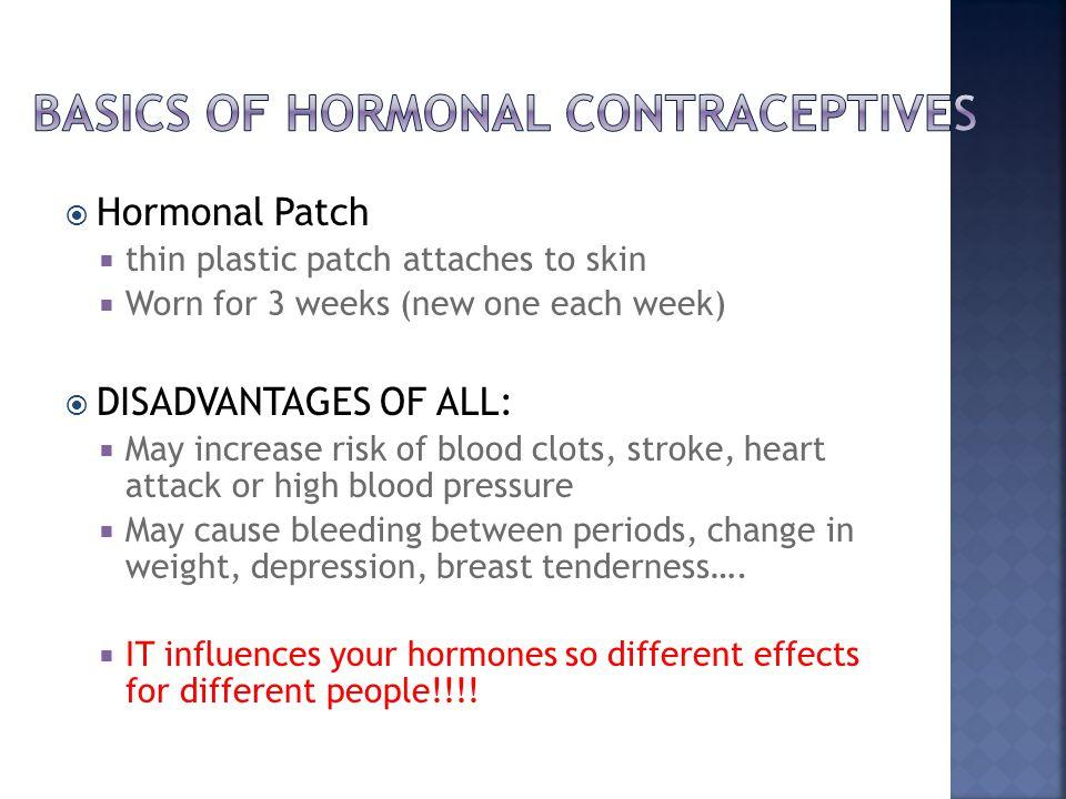 Basics of hormonal contraceptives