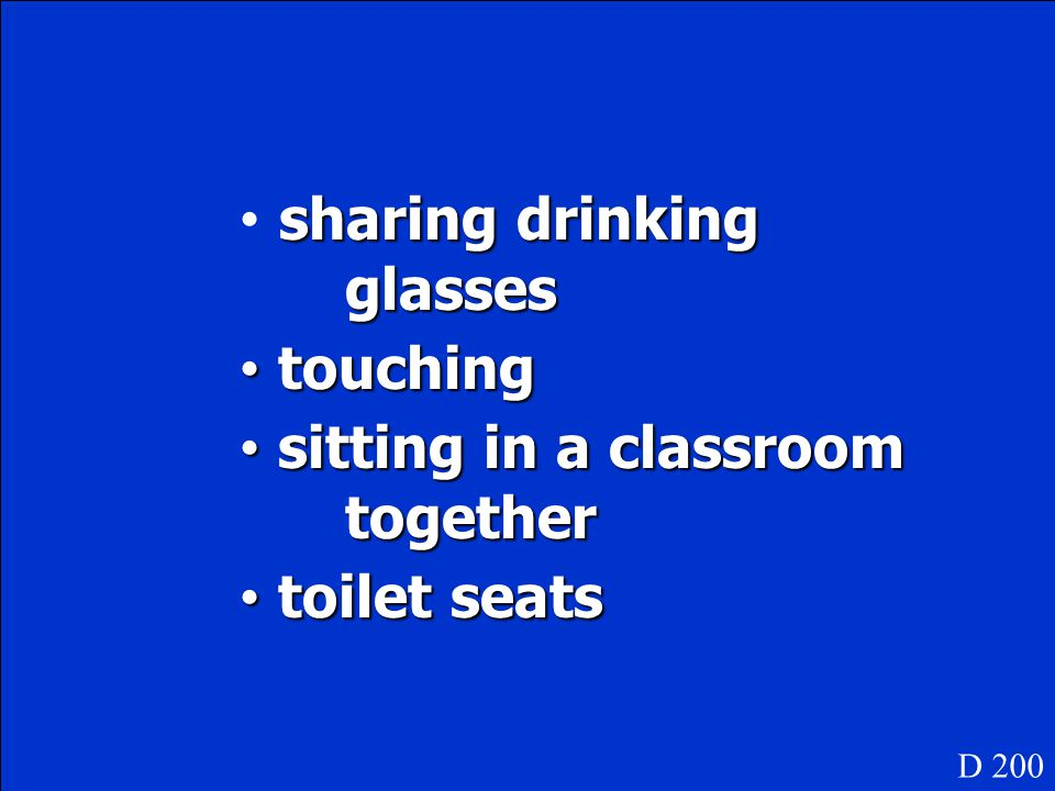 sharing drinking glasses touching sitting in a classroom together