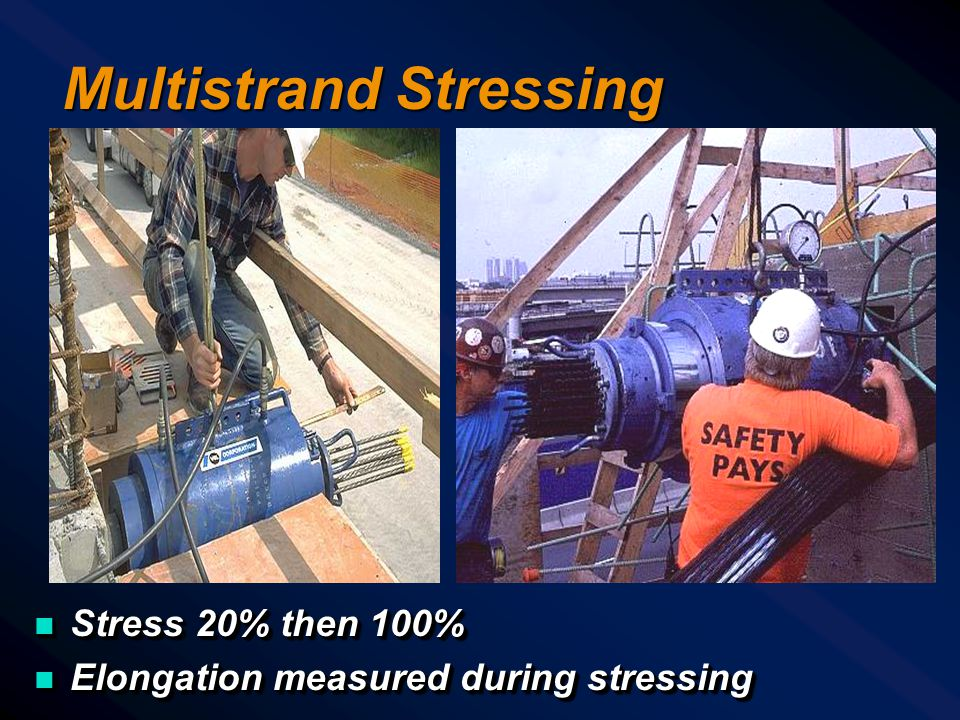 Multistrand Stressing Equipment