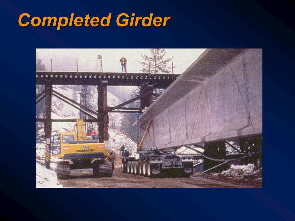 Completed Girder