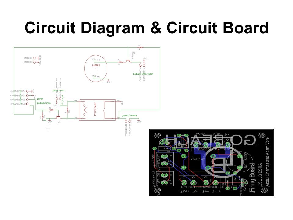 Circuit Diagram & Circuit Board