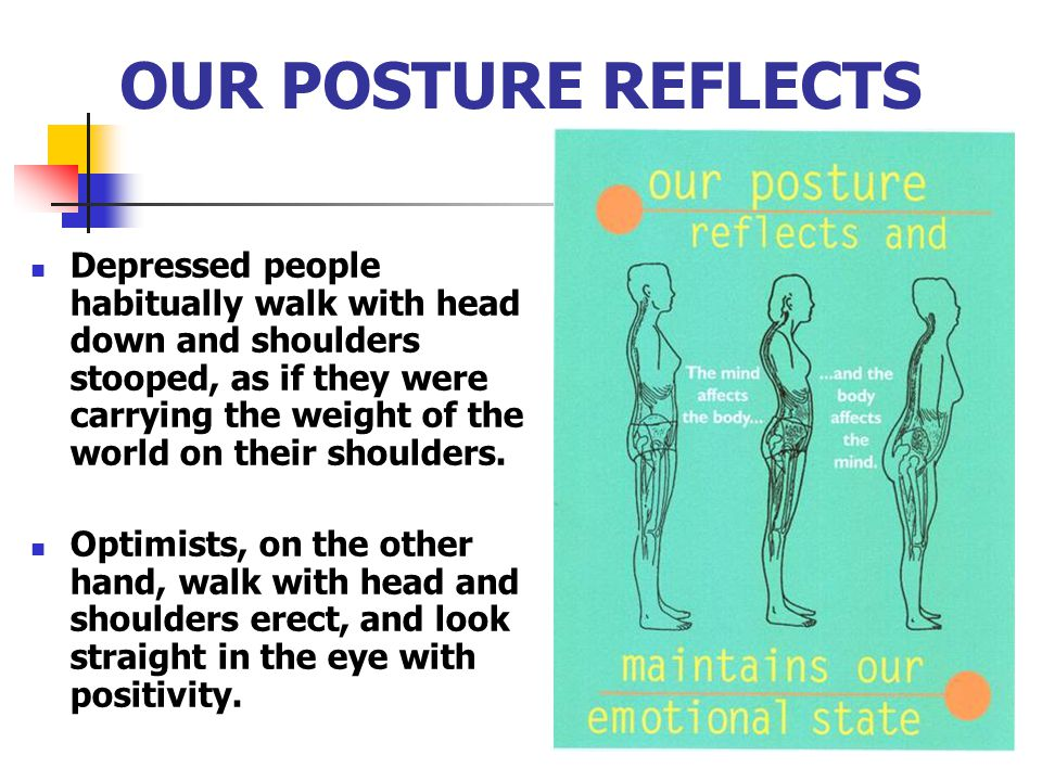 OUR POSTURE REFLECTS