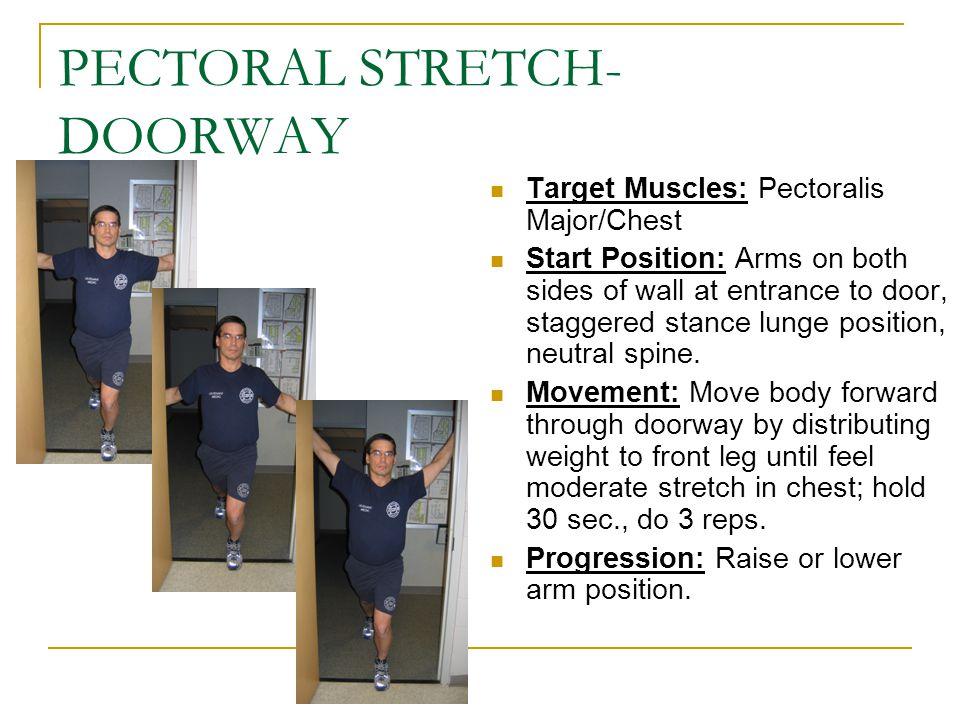 PECTORAL STRETCH-DOORWAY