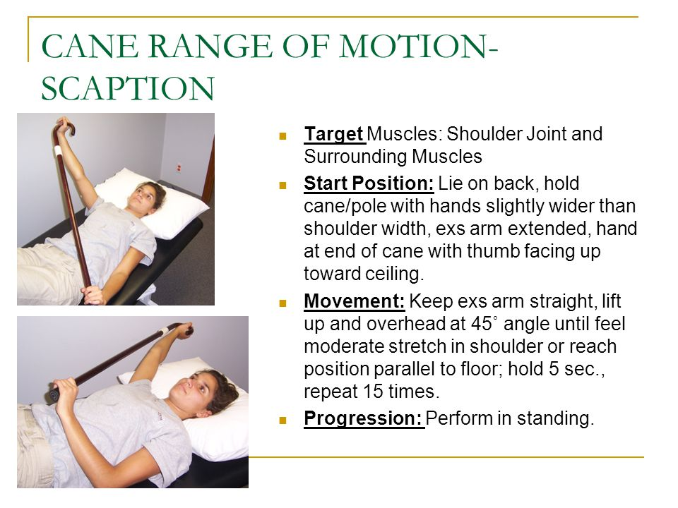 CANE RANGE OF MOTION-SCAPTION