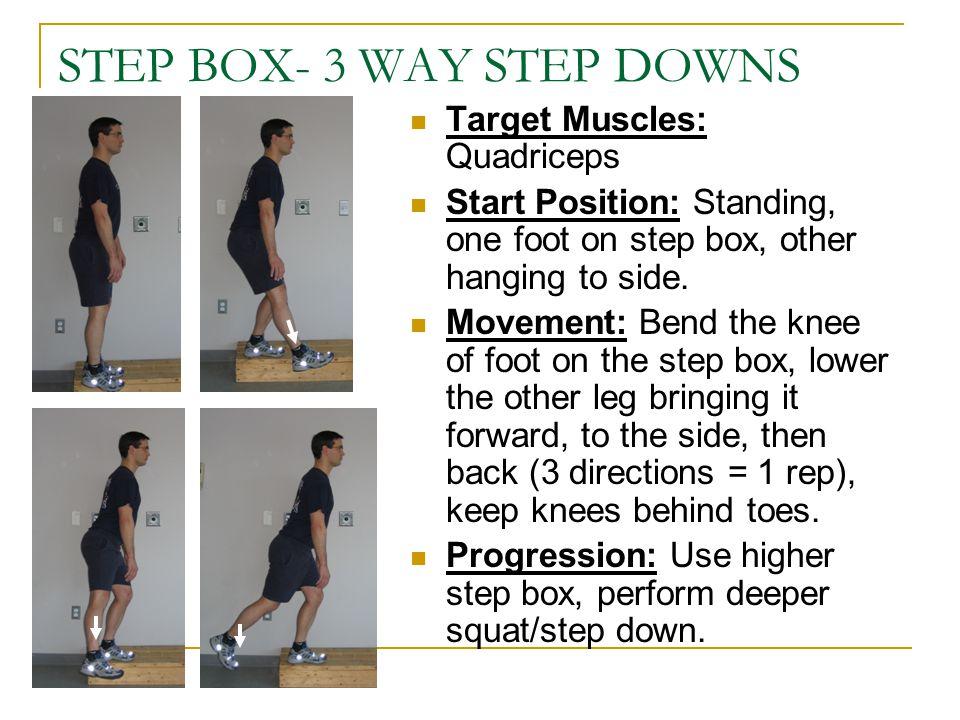 STEP BOX- 3 WAY STEP DOWNS