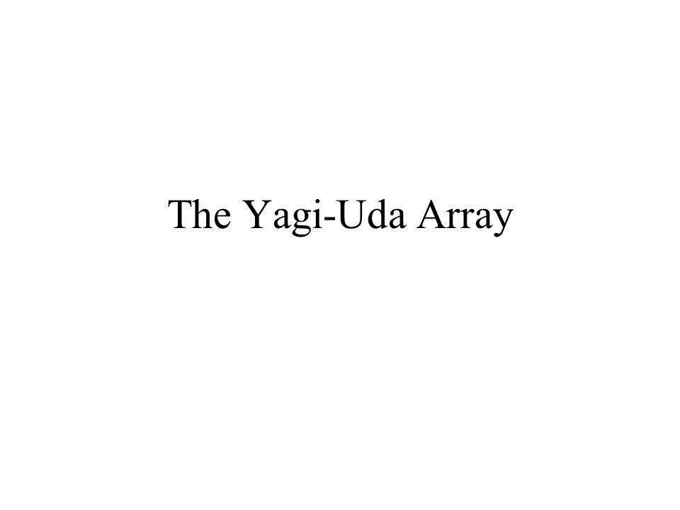 The Yagi-Uda Array