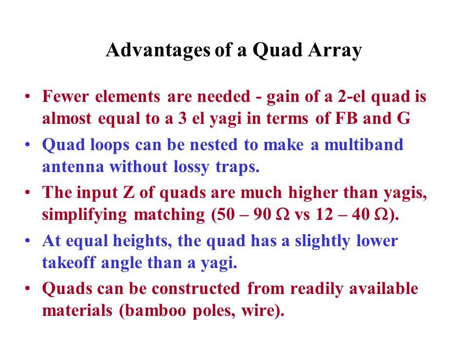 Advantages of a Quad Array