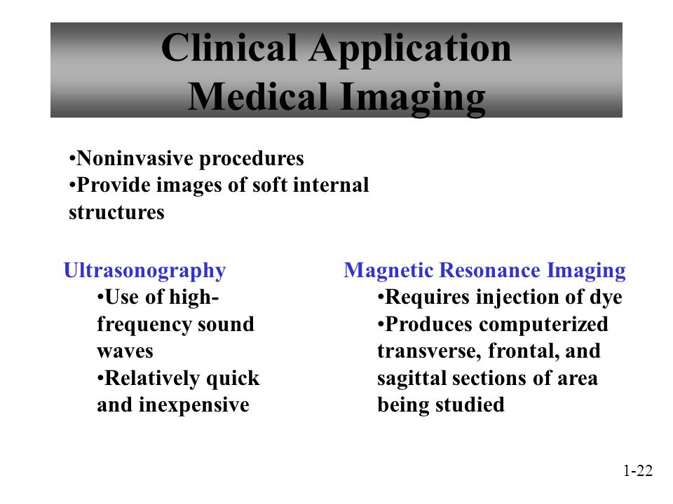 Clinical Application Medical Imaging