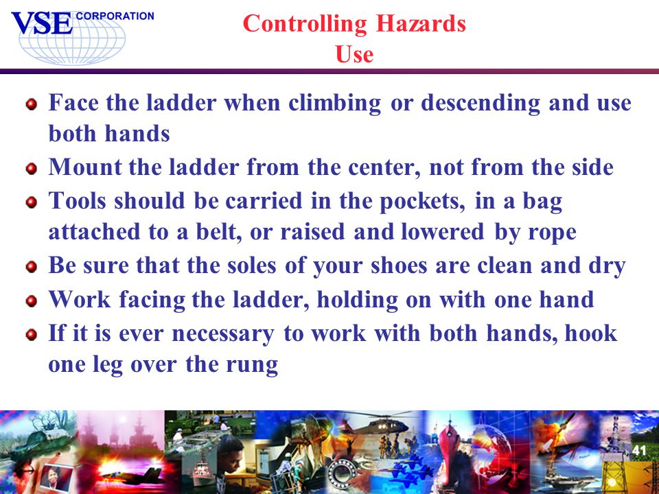 Controlling Hazards Use