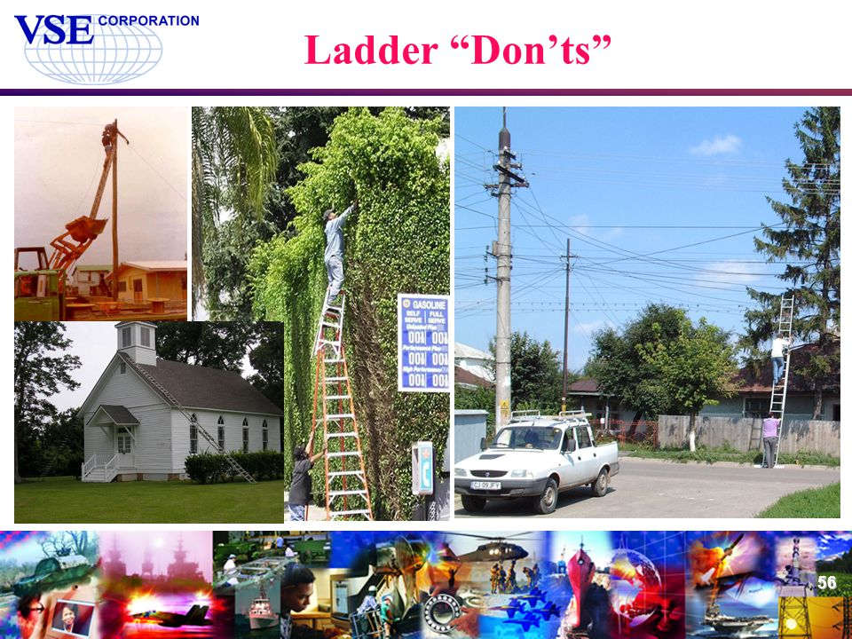 Ladder Don'ts