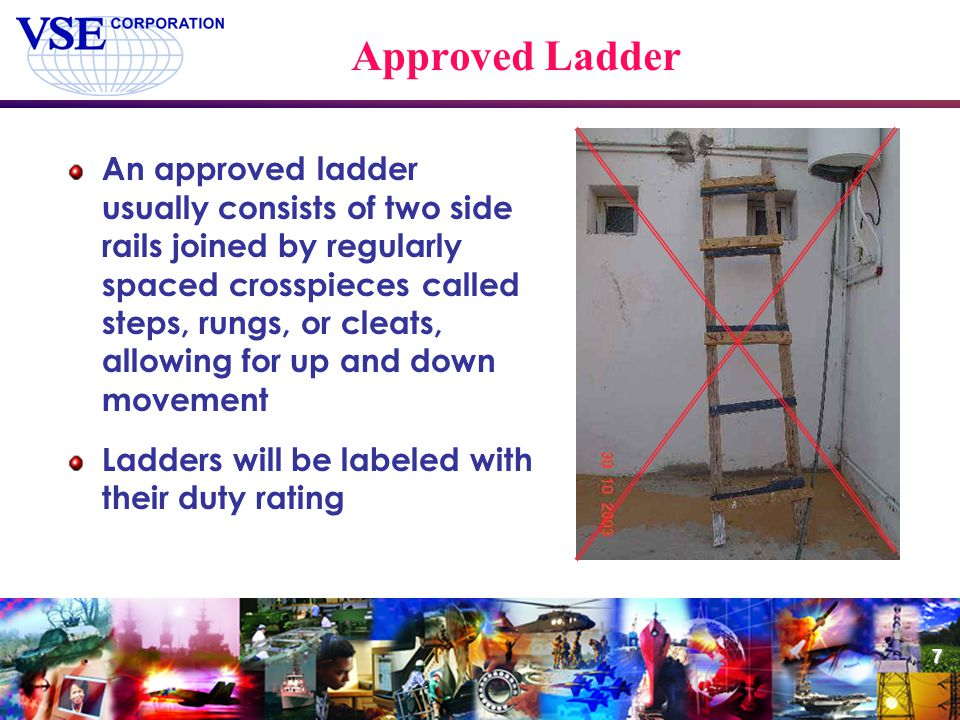 Approved Ladder