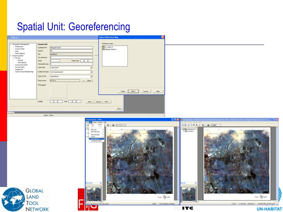 Spatial Unit: Georeferencing