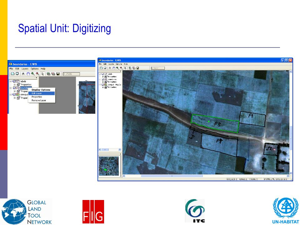 Spatial Unit: Digitizing
